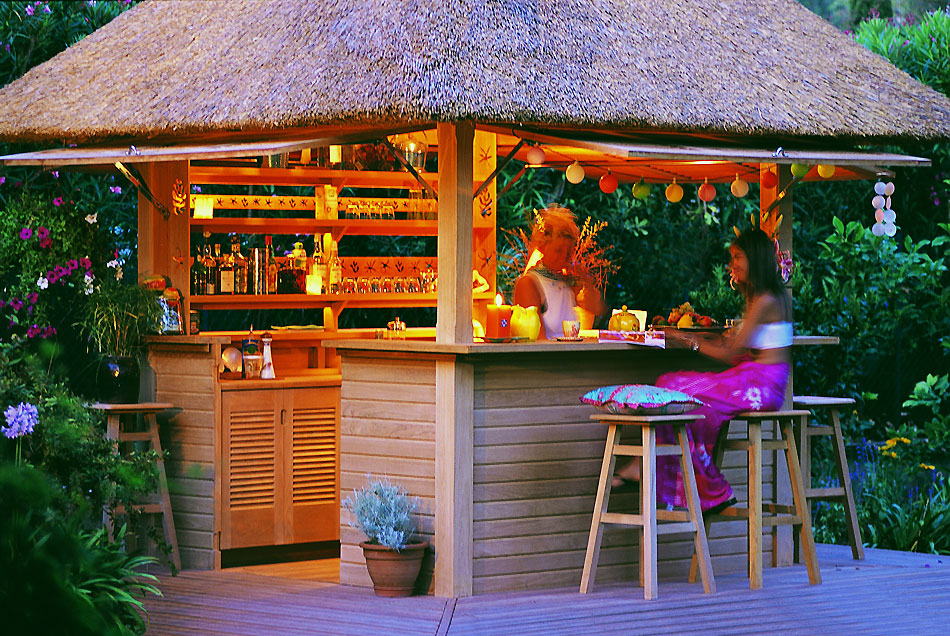 Collection honeymoon world - Bar exterieur de jardin ...